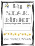 S.T.A.R. Binder 5th Grade