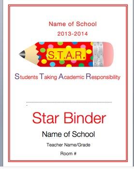 STAR Binder Cover