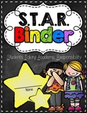 S.T.A.R. Binder & Folder Cover {Chalkboard Theme}