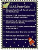 STAR Binder Cover and STAR Rules {Space Theme}