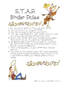 STAR Binder Rules (Western)