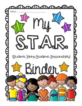 S.T.A.R Binder {Students Take Academic Responsibility} Take Home Binder!