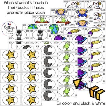 Star Bucks - Classroom Economy Reward System (Space Theme)