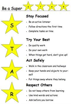 STAR Classroom Management Bundle