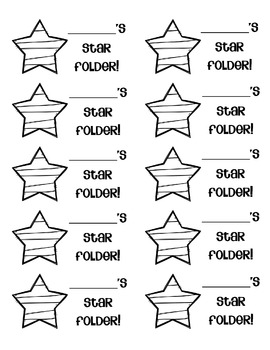 STAR Communication Folders