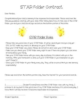 STAR Folder Contract