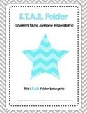 S.T.A.R. Folder (Homework Folder) Cover
