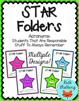 STAR Folder {Student Organization Folder}