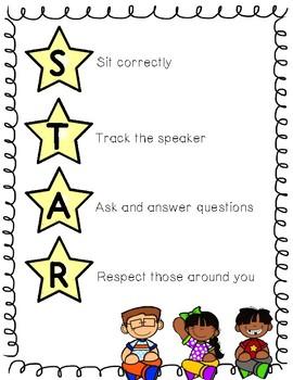 STAR Listening Poster