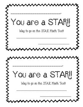 STAR Math Congratulator