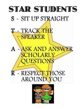STAR Behavior Poster