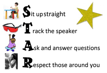 STAR Poster: Behavior Reminder