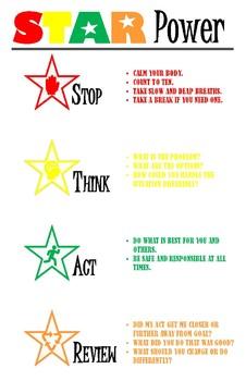 STAR Power Poster-White