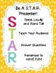 STAR Presentations and Rubrics