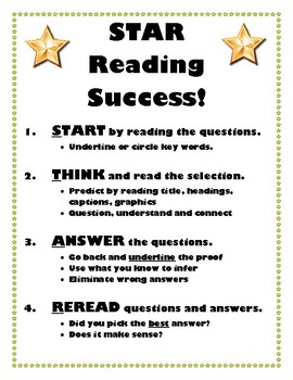 STAR Reading Success - Test Strategy Prep for ELA