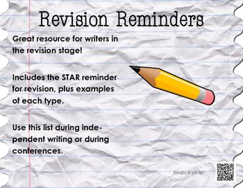 STAR Revision Reminders With Examples