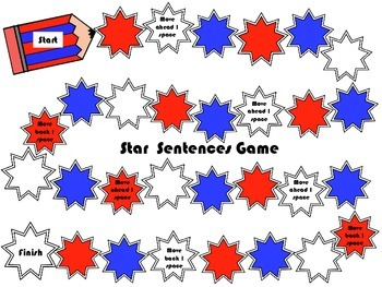 SENTENCE REVIEW GAME (Be verbs, irregular verbs, progressive verbs) [FREE]