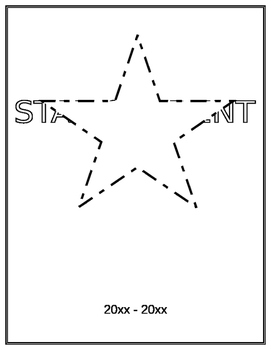 STAR STUDENT BOOK from CLASSMATES GIFT EASY KEEPSAKE