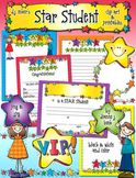 Star Student Clip Art & Printables