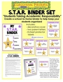 S.T.A.R. School-to-Home Communication Binder Set