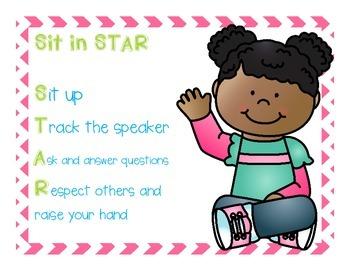 STAR Seating Poster FREEBIE!