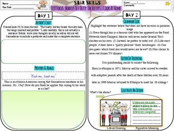 STAR Skills: Common Core Close Reading & Language Skills {Set #5}