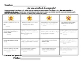 STAR Spelling Word Contract Spanish Version