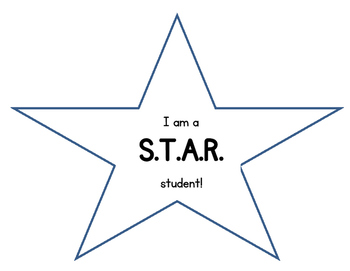 STAR Student Chant Posters