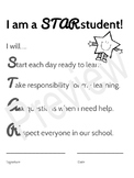 STAR Student - Back to School Classroom Expectations Packet