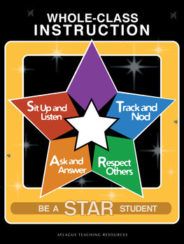 STAR Student Whole-Class Instructional Poster (Digital Download)