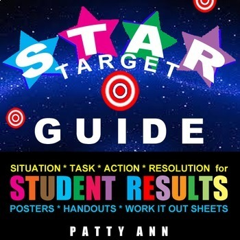 Goal Set with the STAR TARGET GUIDE >Student Critical Thinking Activity Success!