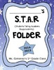 S.T.A.R Take Home Folder Cover (Editable) Bold Colors