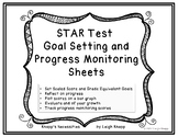 STAR Test Goal Setting and Progress Monitoring Sheets