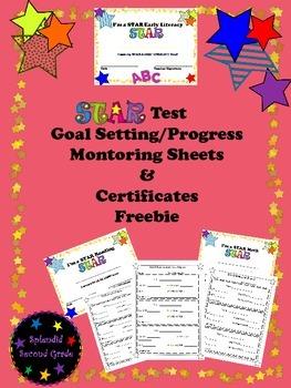 STAR Test Goal Setting/Progress Monitoring & Certificates Freebie