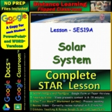 Complete STAR* Video Lesson on THE SOLAR SYSTEM for Distance Learning DINB