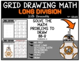 STAR WARS BB-8 Grid Drawing Math Puzzle LONG DIVISION WITH REMAINDERS (2)
