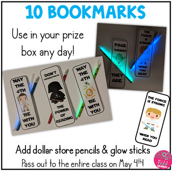 Bookmarks - May Fourth Star Wars Inspired