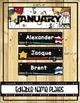 STAR WARS Classroom BIRTHDAY CHART