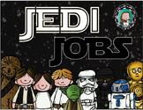 STAR WARS Classroom JOB CHART {with Editable Nameplates}