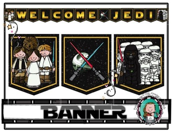STAR WARS Classroom WELCOME BANNER