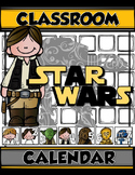 STAR WARS CLASSROOM CALENDAR Numbers & Monthly Headers