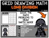 STAR WARS DARTH VADER Grid Drawing Math Puzzle LONG DIVISION WITH REMAINDERS (2)