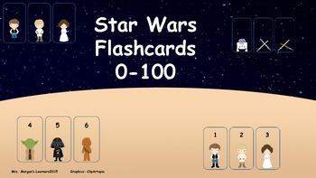 STAR WARS Flashcards 0-100