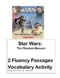 STAR WARS- Fluency Passages, Vocabulary Activity RL 5 to 7