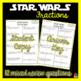 STAR WARS Fractions Review (Luke Skywalker)
