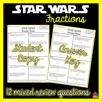 STAR WARS Fractions Review (Yoda)
