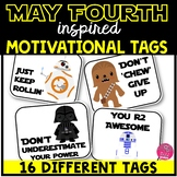 Motivational Tags - May Fourth Inspired