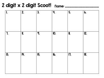 STAR WARS! Multi-digit Addition Scoot Cards