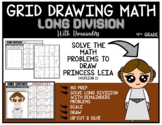 STAR WARS PRINCESS LEIA Grid Math Puzzle LONG DIVISION WITH REMAINDERS (2)