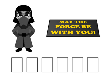 STAR WARS Phonological Awareness Boards